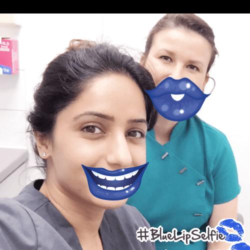 Victoria Road Dental #bluelipselfie