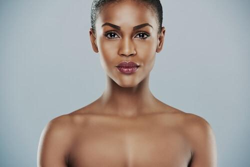 beautiful woman who has had facial aesthetics treatment